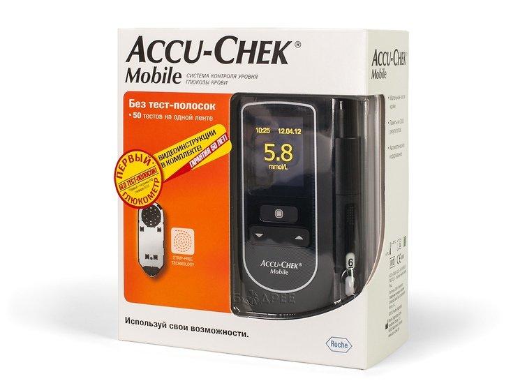 Глюкометр Акку-Чек Mobile